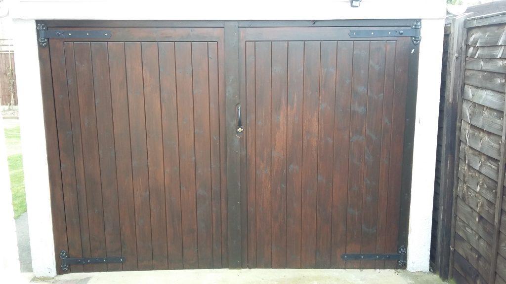 Bespoke Wooden Garage Doors
