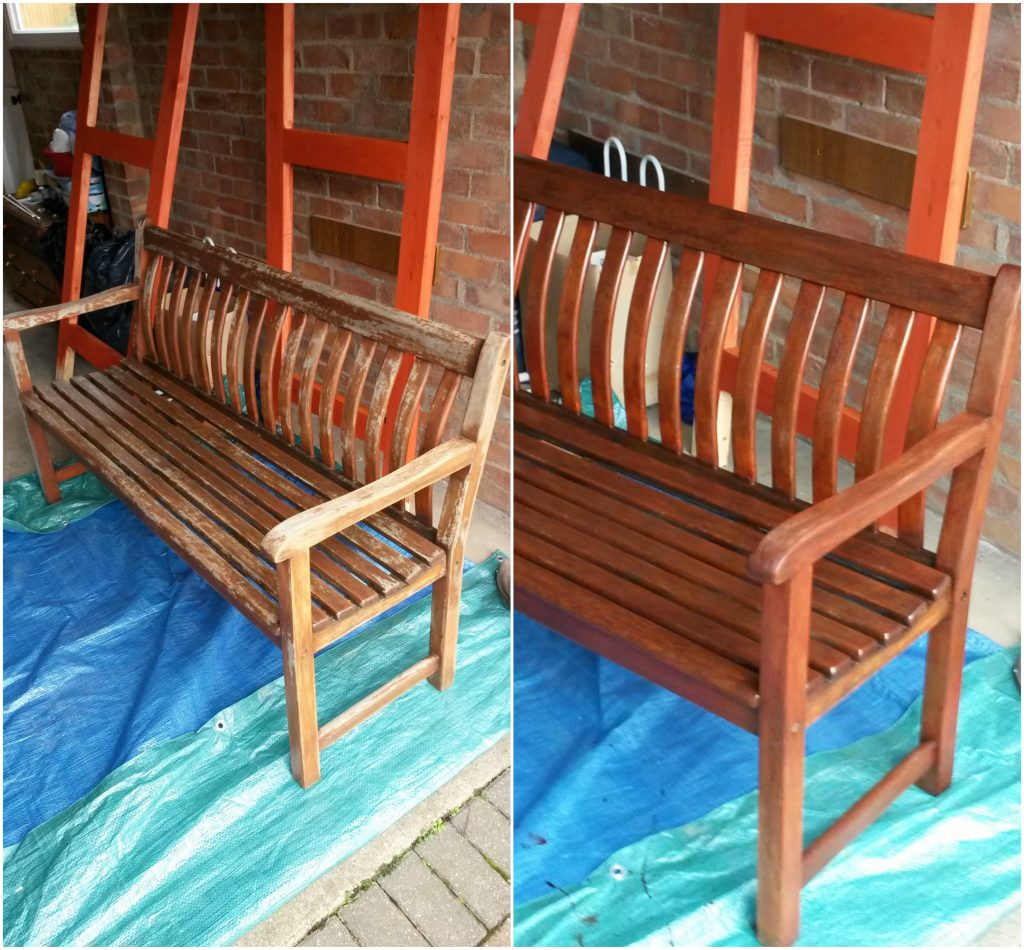 restore garden furniture