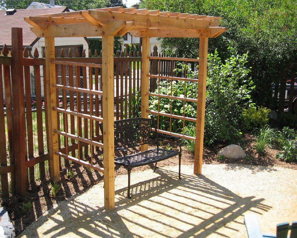Garden Pergola - Ligna Carpentry, Suffolk