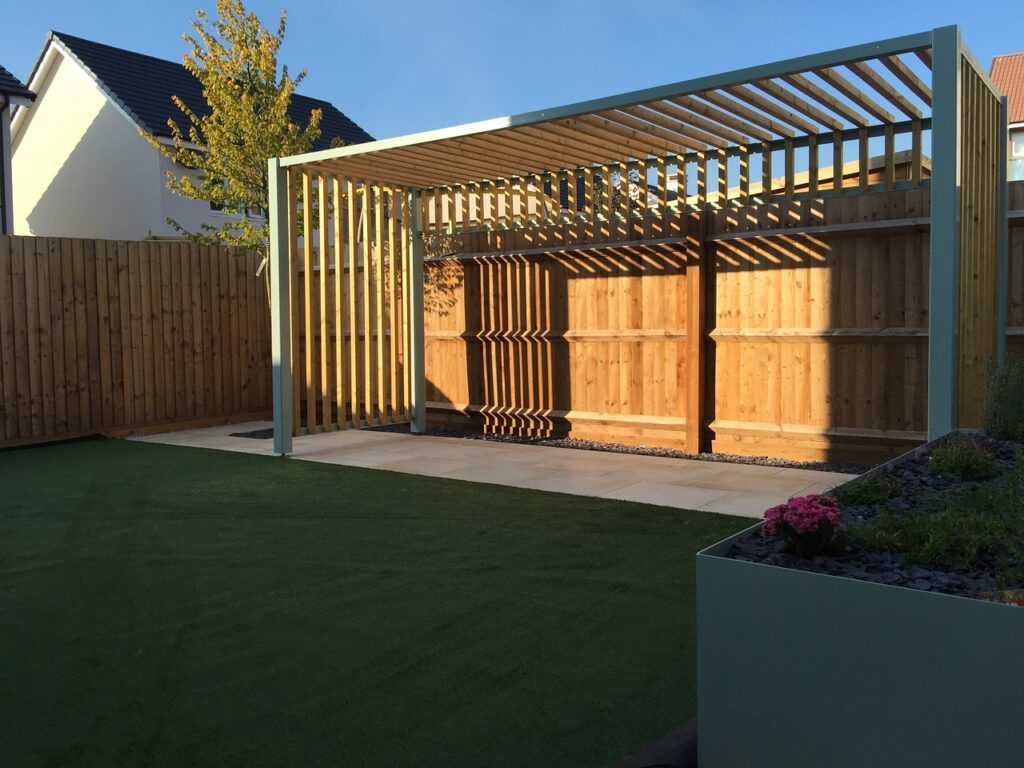 Bespoke Pergola - Ligna Carpentry - Suffolk